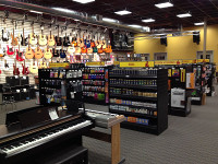 Inside another music store