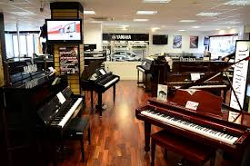 Pianos on Display